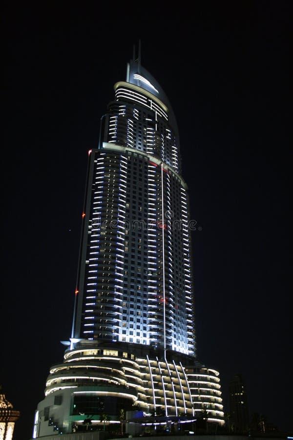 Dubai By Night Royalty Free Stock Image