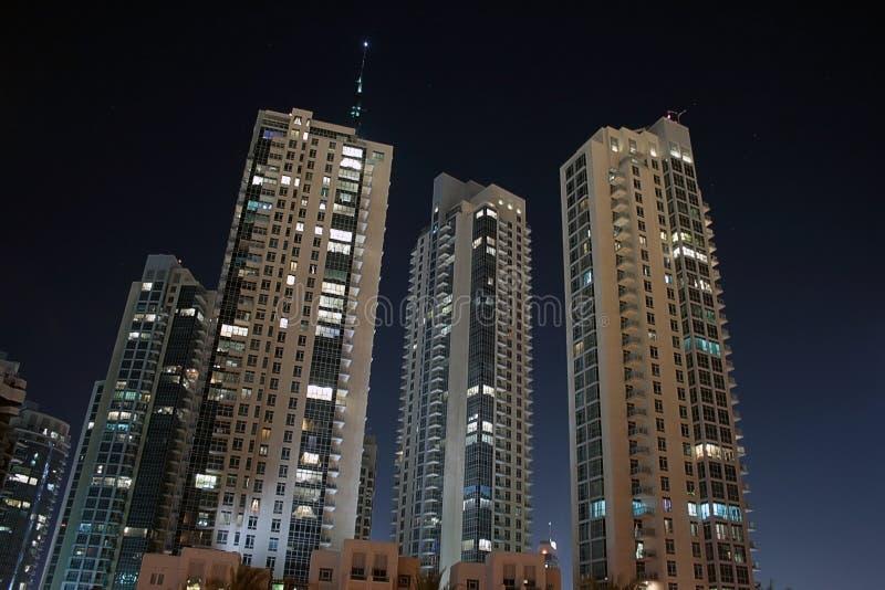 Download Dubai by night stock image. Image of night, horizontal - 11006263