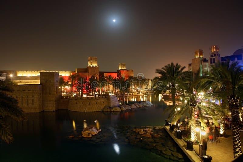 Dubai Night stock images