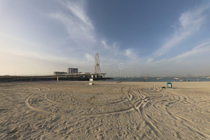 Dubai Ryssland cykel arkivbilder