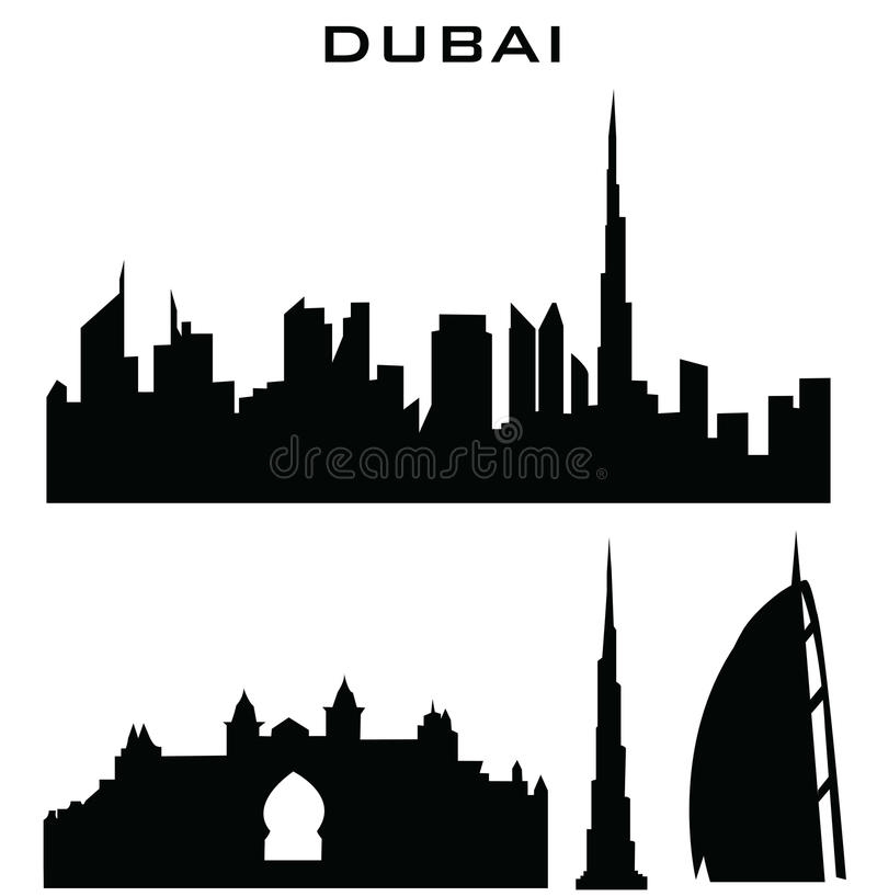 Download Dubai stock vector. Illustration of gate, baroque, cathedral - 34758425