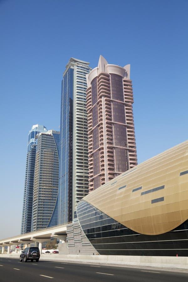Dubai Skyline, UAE Royalty Free Stock Photos