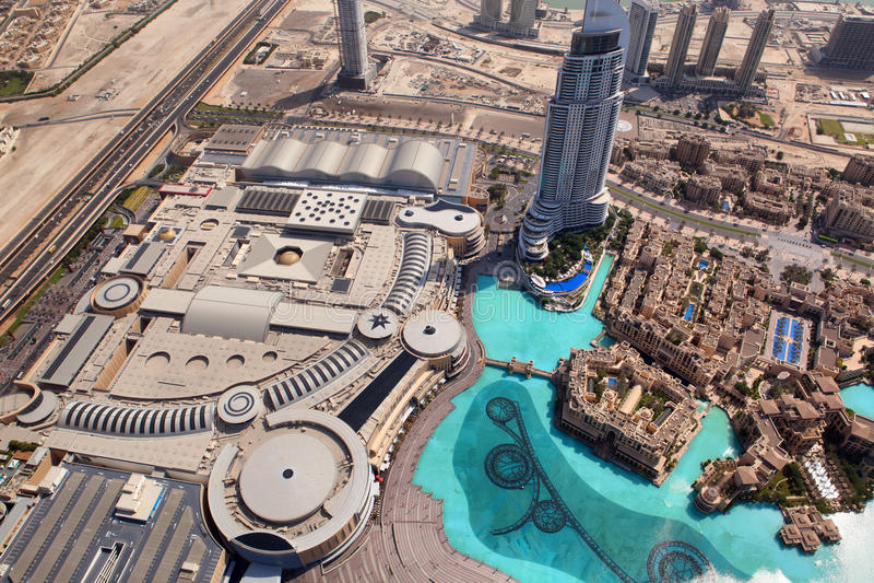 Download Dubai, The Top View On Dubai Downtown Editorial Photo - Image: 33791661