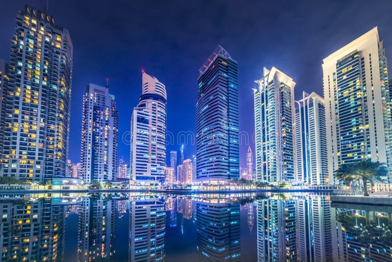Dubai towers royalty free stock photography