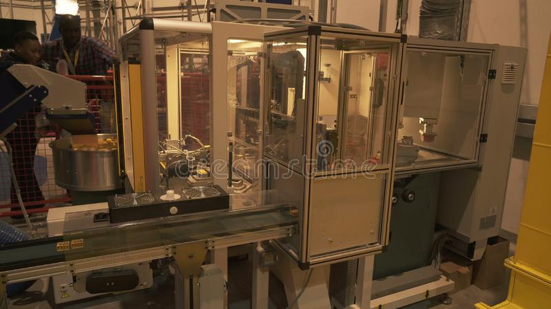 Demonstration Of The Technological Process Of Manufacturing