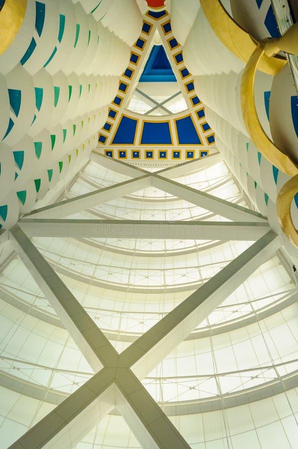 Burj Al Arab Hotel in Dubai, UAE. stock images