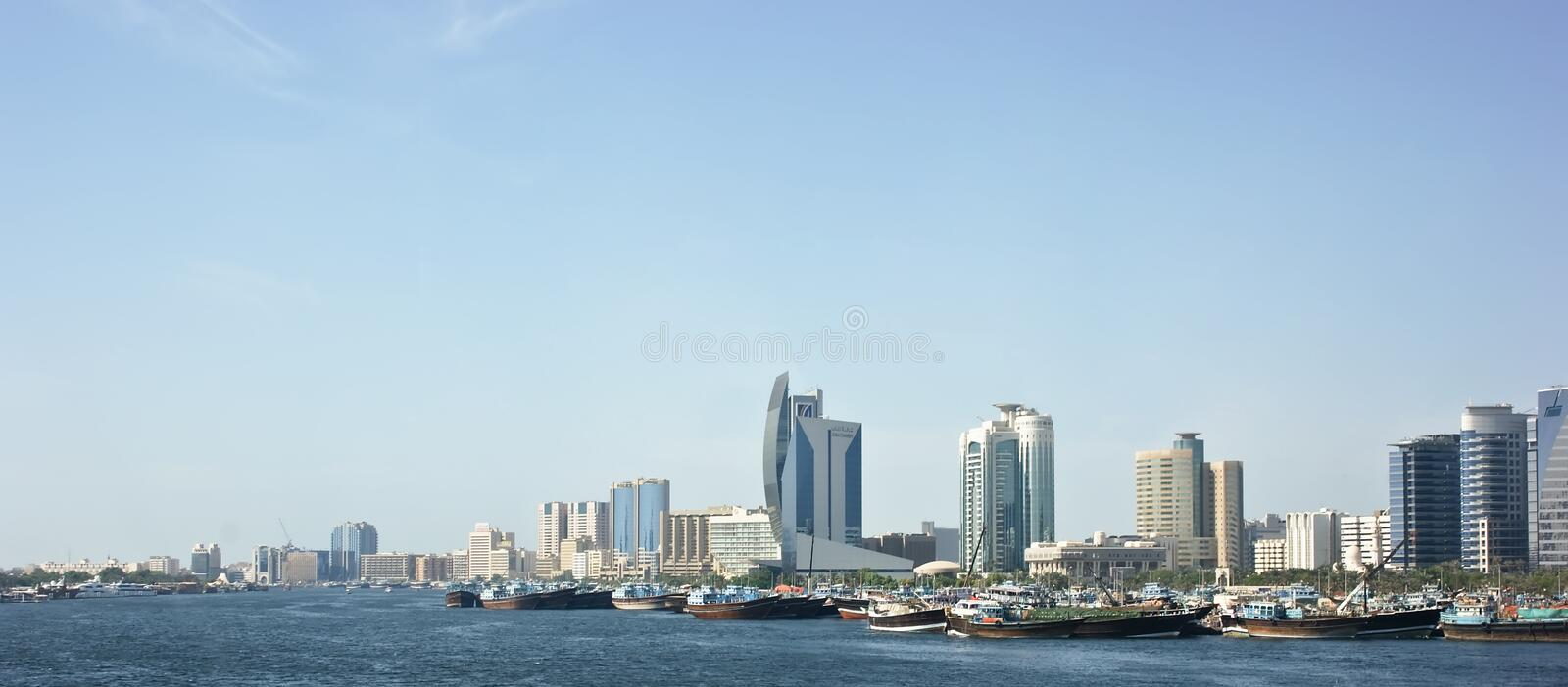 DUBAI, UAE , Deira , Port Said, the Bay Creek