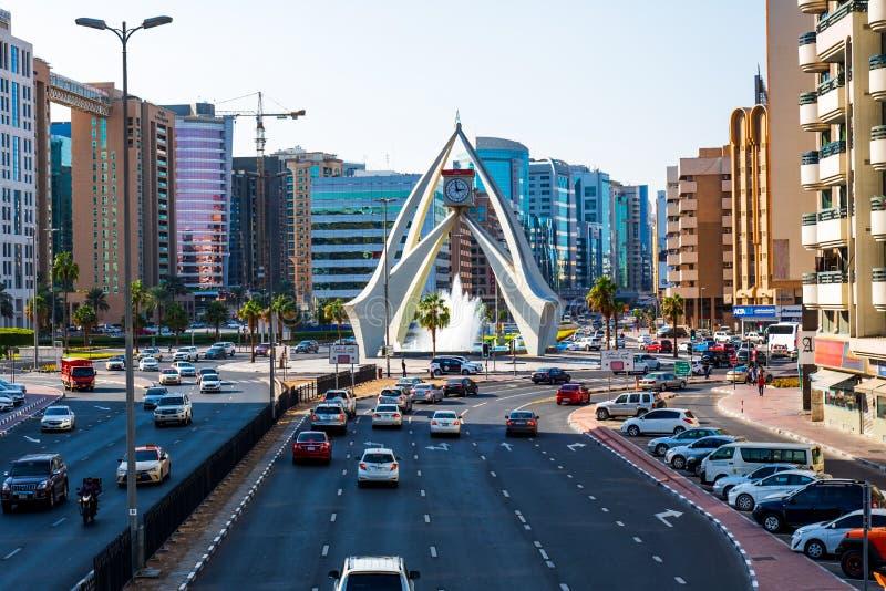 Dubai, United Arab Emirates - November 30, 2018: Deira clock tow stock image
