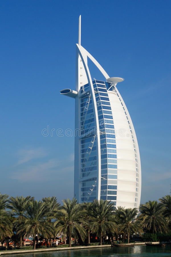 Dubai, Unites Arab Emirates Burj Al Arab royalty free stock photo
