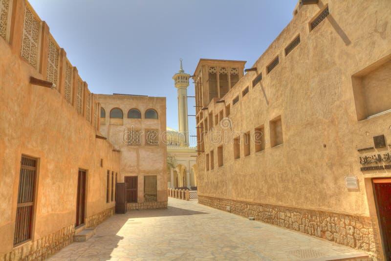 Dubai viejo, United Arab Emirates fotografía de archivo