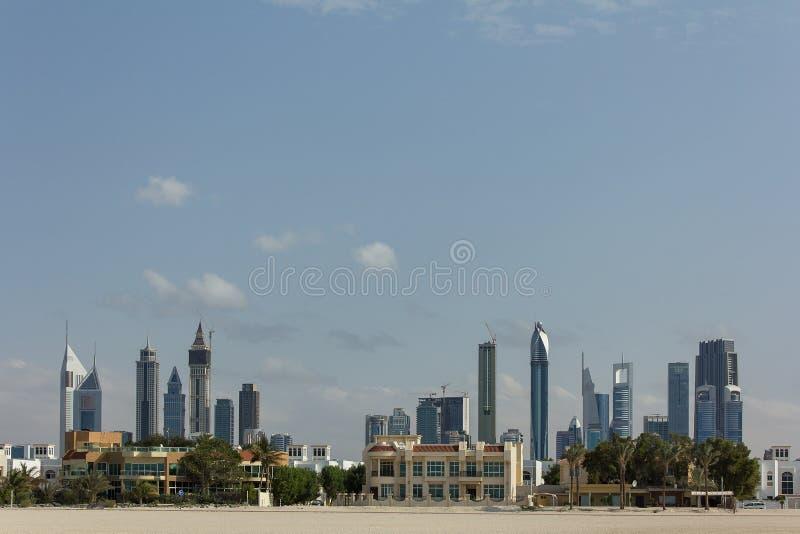 Dubaj centrum finansowe zdjęcie stock
