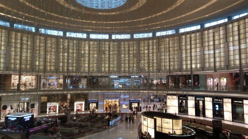 Dubaj centrum handlowe obraz stock