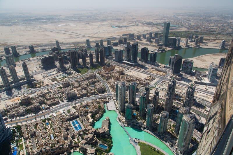 Dubaj centrum handlowego widok obraz stock