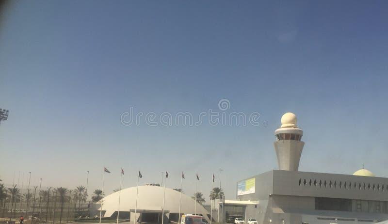 Dubaj lotniska świątynia obrazy royalty free