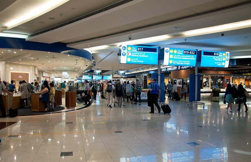 Dubaj lotnisko fotografia royalty free