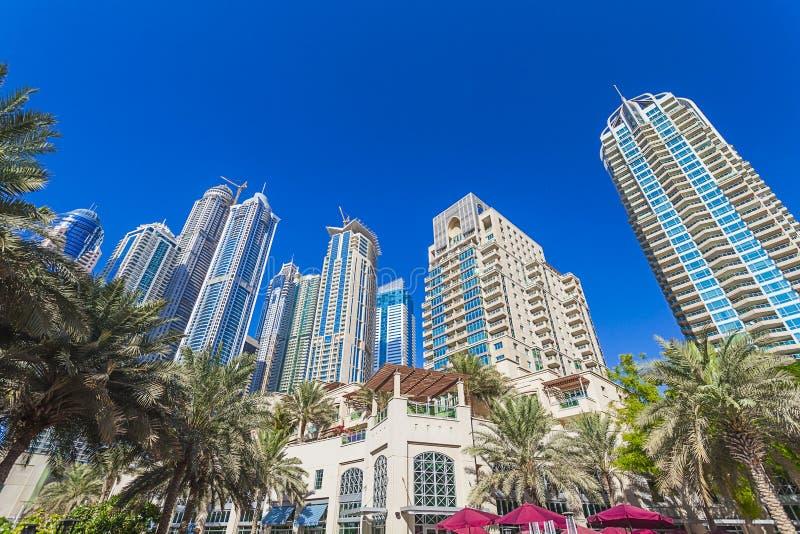 Dubaj Marina fotografia royalty free
