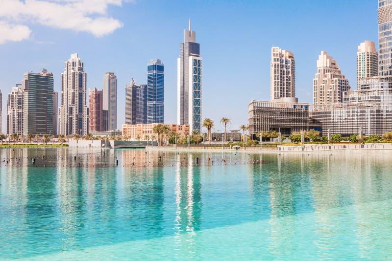 Dubaj miasto obraz royalty free