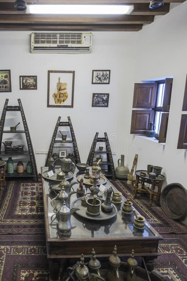 Dubaj muzeum zdjęcie stock