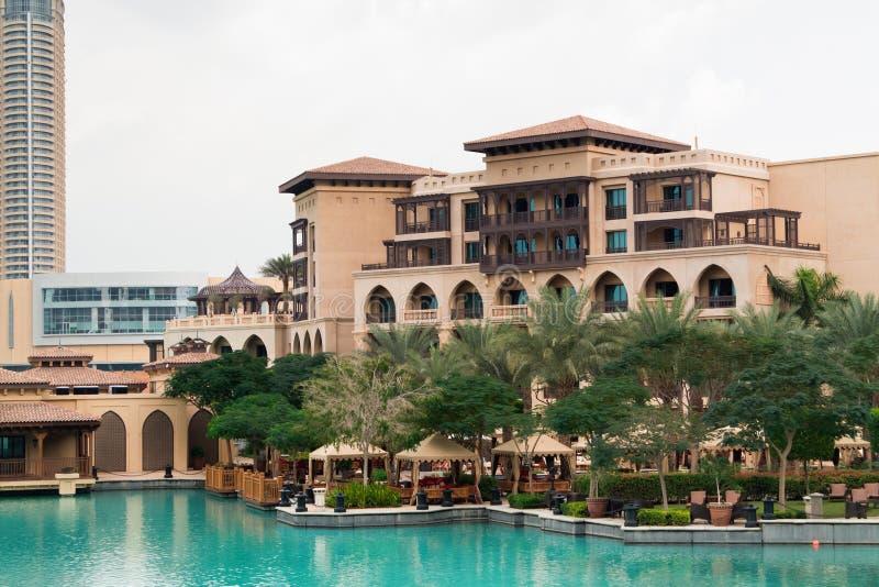 Dubaj pałac hotel obraz stock