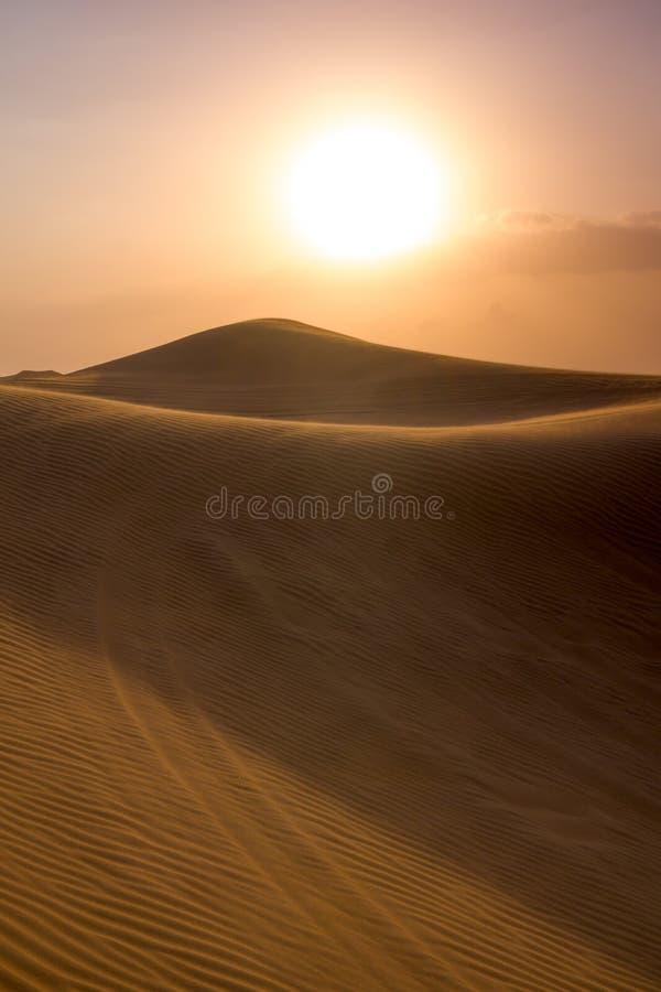 Dubaj pustyni Al Madam obrazy stock