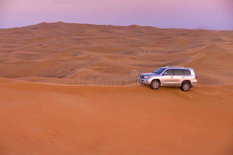 Dubaj pustyni safari fotografia stock