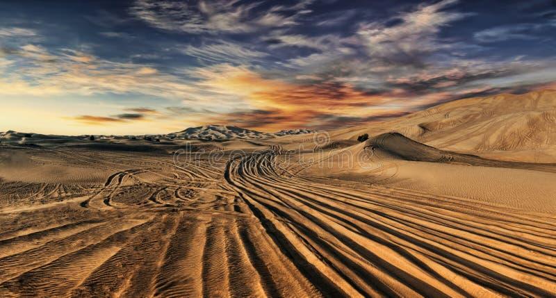 Dubaj pustynia zdjęcie stock