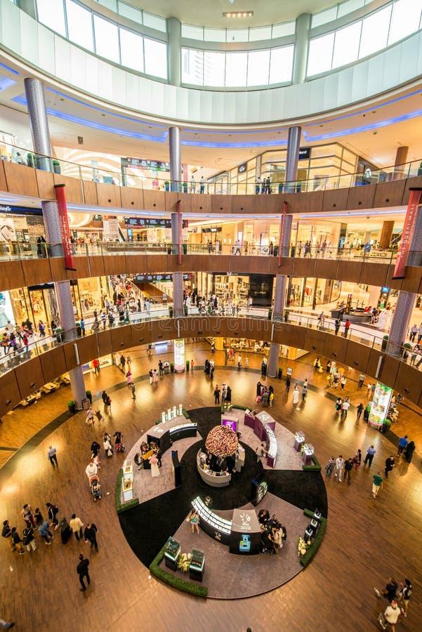 Dubaj, SIERPIEŃ - 7, 2014 zdjęcia royalty free