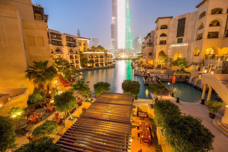 Dubaj, STYCZEŃ - 9, 2015: Duszy Al Bahar na Styczniu obrazy royalty free