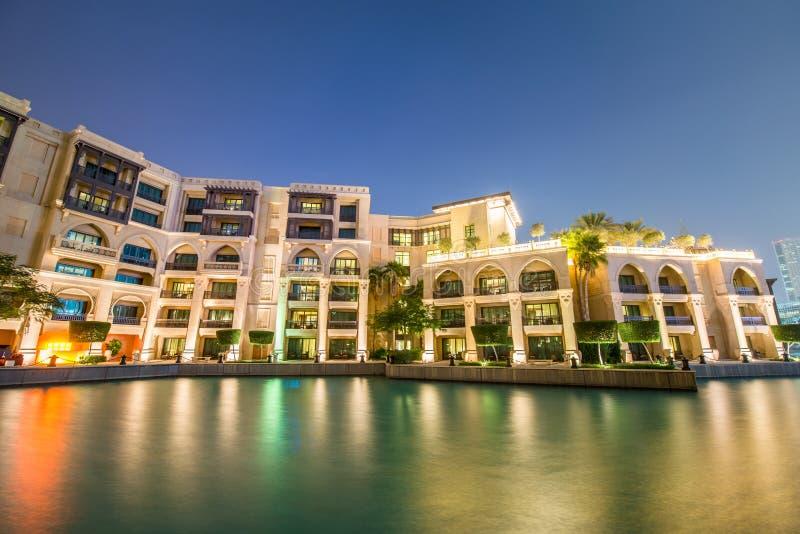 Dubaj, STYCZEŃ - 9, 2015: Duszy Al Bahar na Styczniu zdjęcie stock