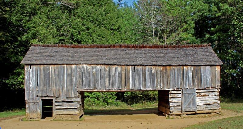 Dubbel pennladugård i den Cades lilla viken, Tennessee royaltyfri bild