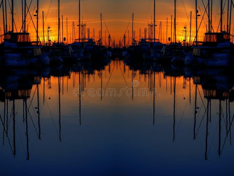 dubbel reflexion fotografering för bildbyråer