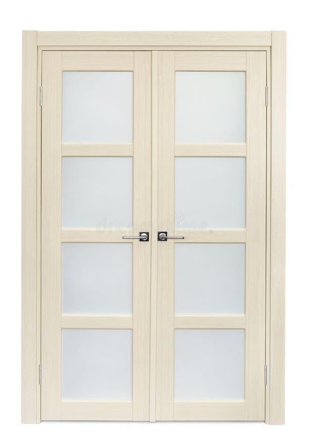 Dubbele deur royalty-vrije stock fotografie
