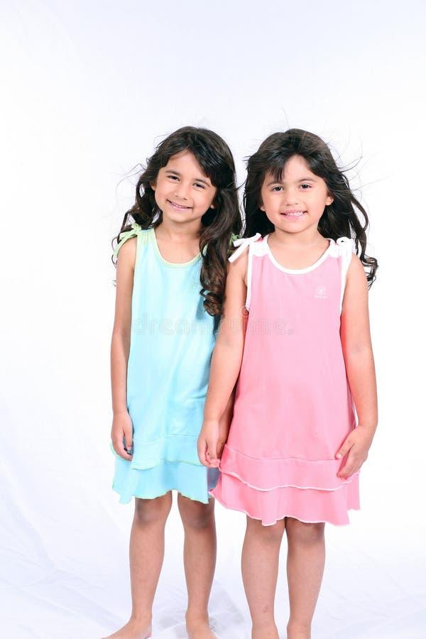 Dubbele Doll royalty-vrije stock fotografie