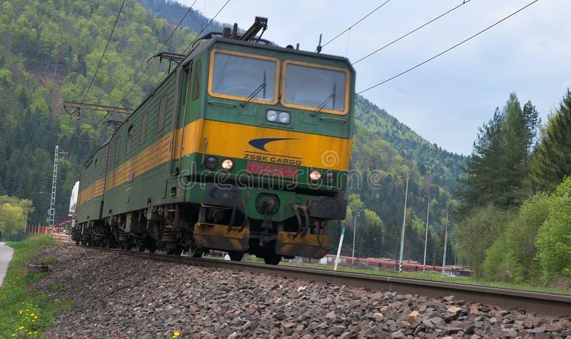 Dubbele Elektrische gelijkstroom-Diesel Locomotief stock afbeeldingen
