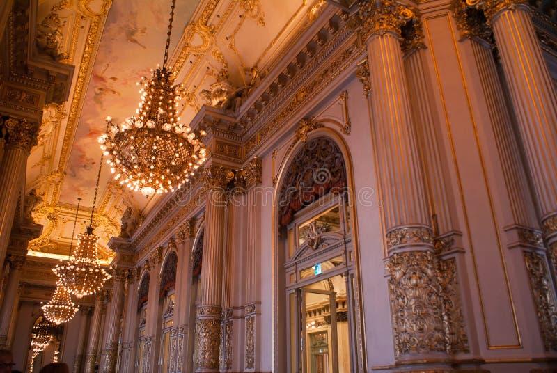 Dubbelpunttheater Buenos aires royalty-vrije stock fotografie