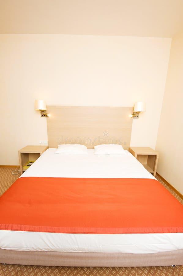 dubbelt hotell för underlag royaltyfria foton