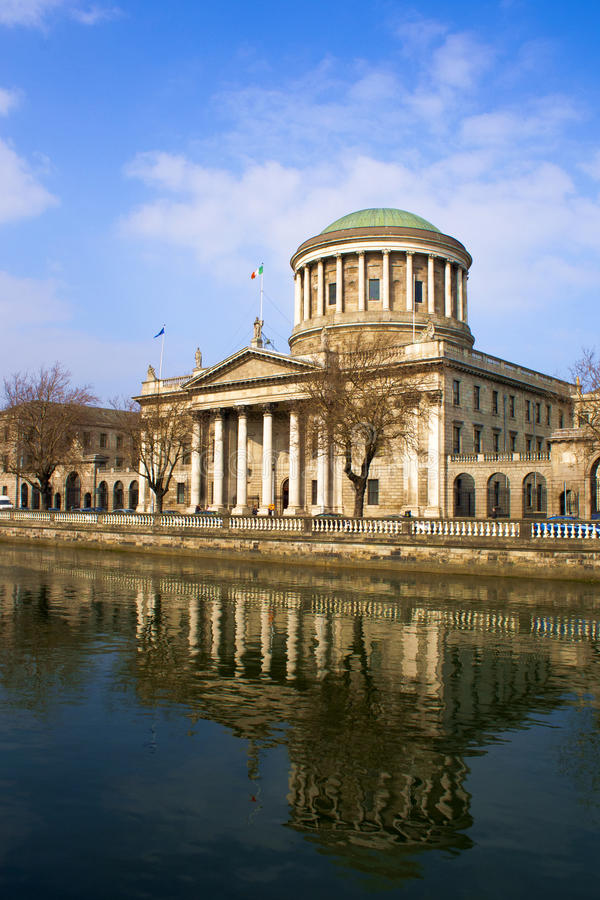Download Dublin stock photo. Image of liffey, justice, historical - 19095410