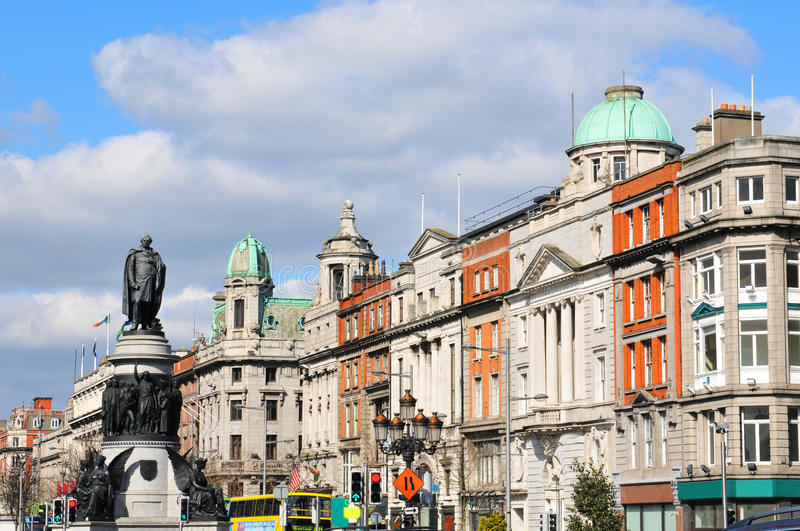 Dublin royalty-vrije stock afbeelding