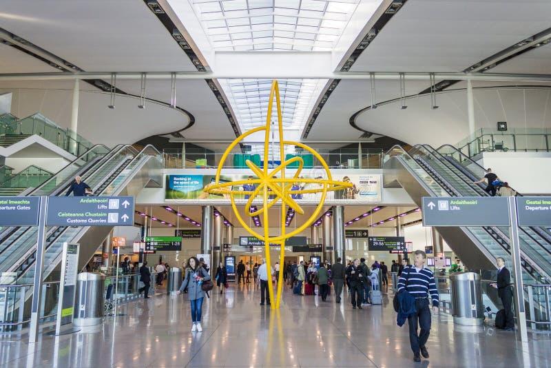 Dublin Airport, Irlanda fotografia stock