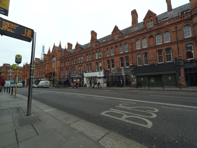 Dublin, Aungier uliczny rynek - obraz stock