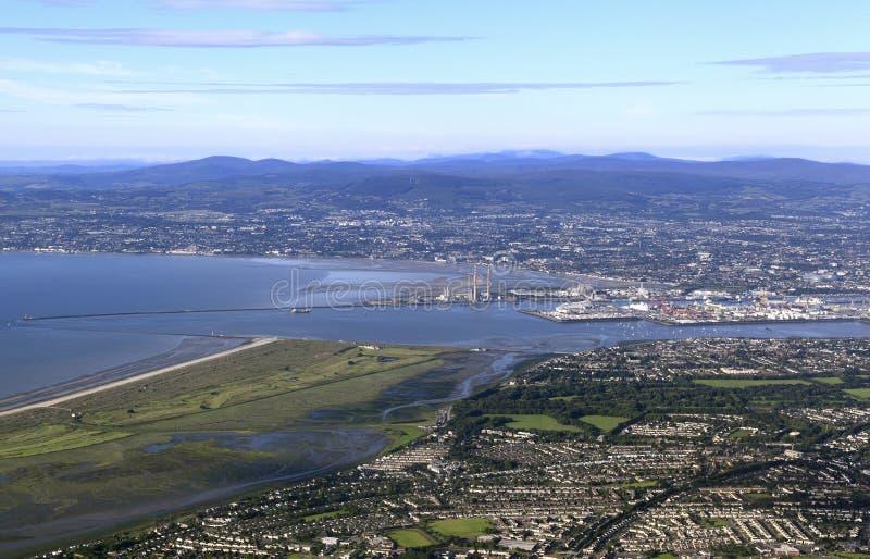 Dublin Bay, Irlanda foto de archivo libre de regalías