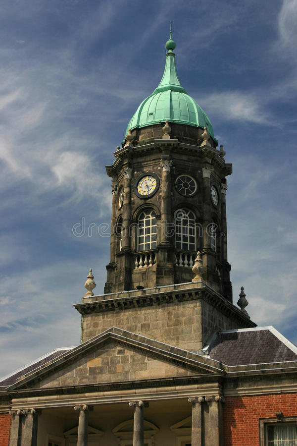 Download Dublin Castle stock photo. Image of tower, city, monument - 12793852