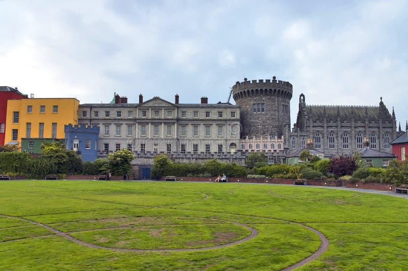 Dublin Castle stock photography
