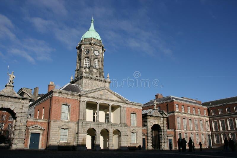 Download Dublin castle stock photo. Image of gates, columns, autumn - 4300944