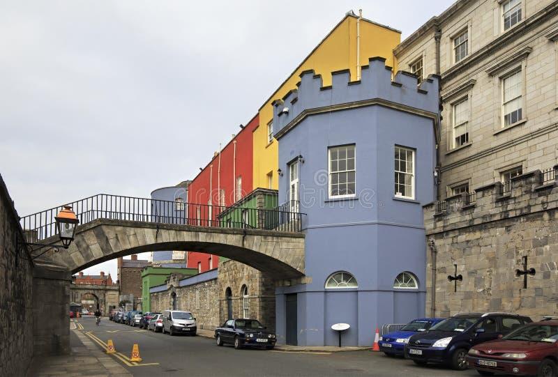 Dublin Castle - site historique d'Irelands photographie stock libre de droits
