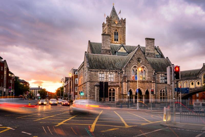 Dublin Cathedral Ireland imagem de stock royalty free