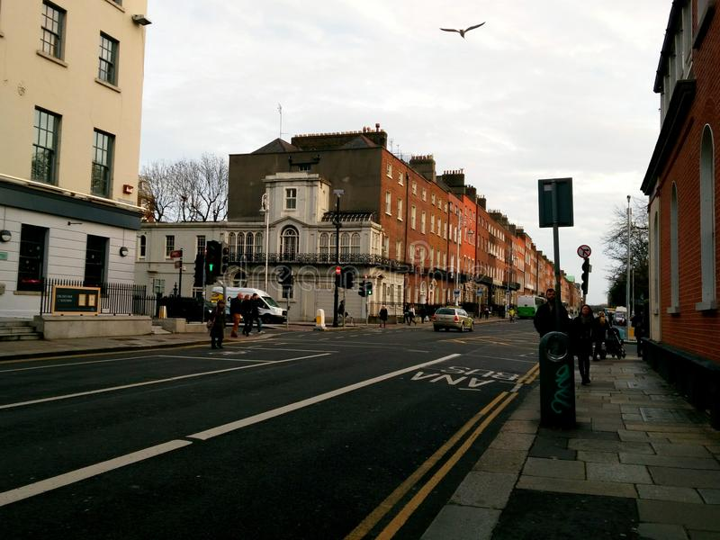Dublin City imagens de stock royalty free
