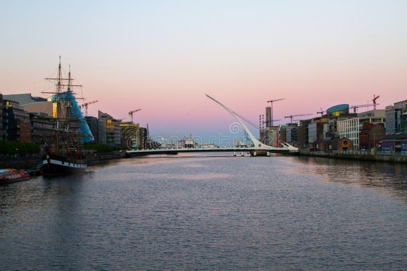 Dublin City images libres de droits