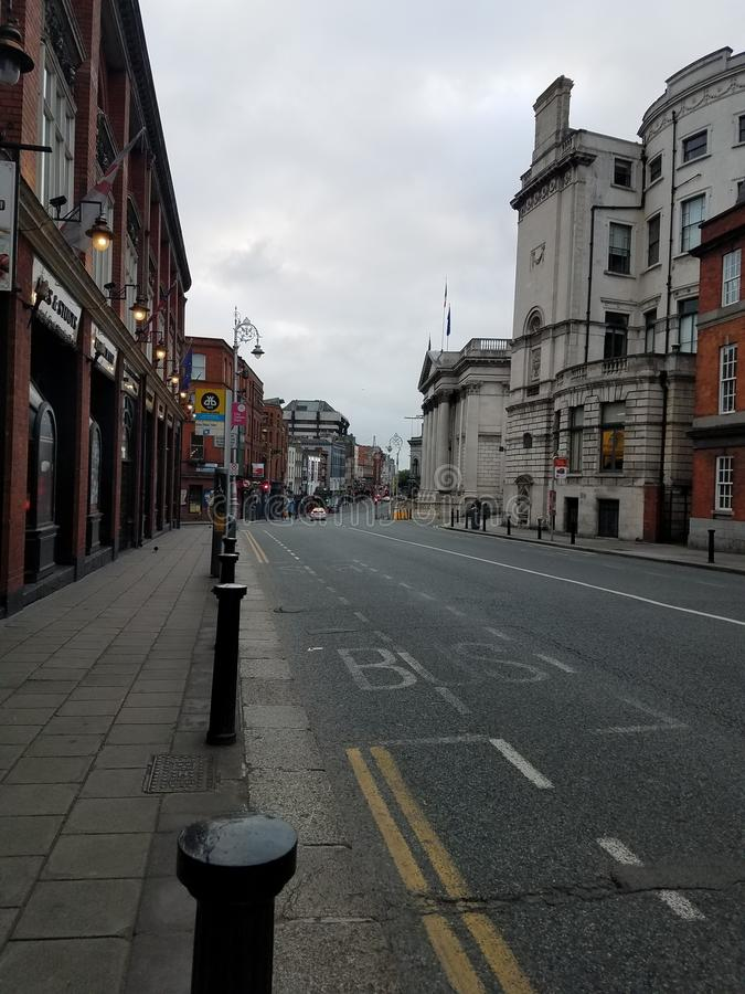 Dublin City image stock