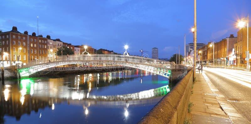 Dublin City Centre imagem de stock